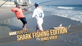 Dude Perfect: Shark Fishing Battle BONUS Video