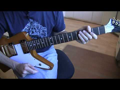 Part A2:  Beautiful Day (U2 Guitar Tutorial / Lesson) - Intro Harmonics