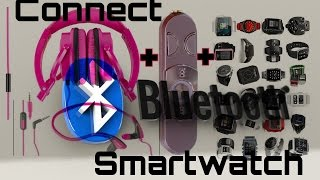 Connect wired headphones to a bluetooth only smartwatch.