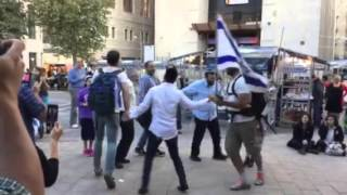 """Mist Of Terror"" Jews Still Dance In Jerusalem"