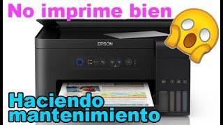 Impresora Epson L4150 no imprime correctamente sus colores