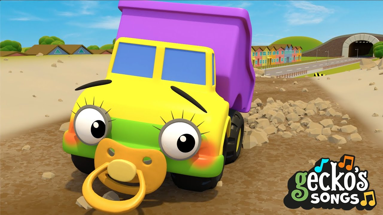 5 Little Trucks Song | Nursery Rhymes & Kids Songs | Gecko's Garage | Truck Songs For Children