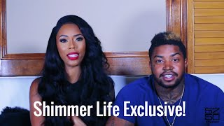 ShimmerLifeTV: Bambi And Lil Scrappy Talk Love And Hip Hop, Engagement,  And Wedding Plans