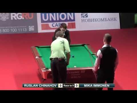 Mika Immonen vs Ruslan Chinahov | FINAL Kremlin Cup 2015 Full HD 10-ball