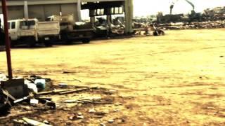 2011年4月11日 東日本大震災から1ヶ月の野田村中心部だいぶ片付...
