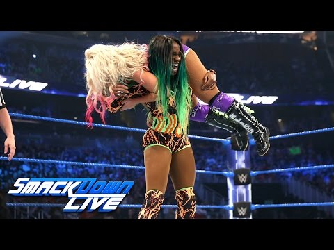 Naomi vs. Alexa Bliss — SmackDown Women's Championship Match: SmackDown LIVE, April 4, 2017