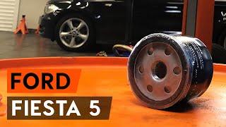 Dílenská příručka Ford Fiesta Mk5 Van stažení