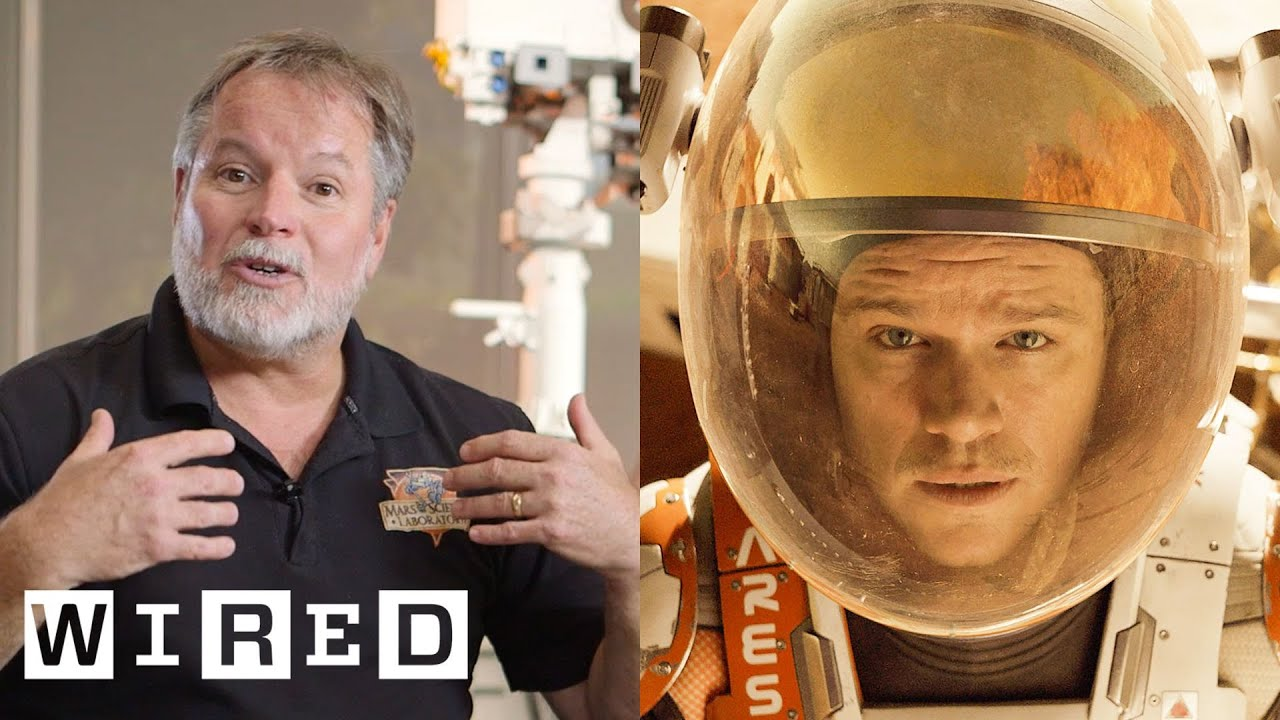 "NASA Scientists Fact-Check ""The Martian"" - YouTube"