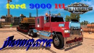 ford 9000 american truck simulator por jhonnparra
