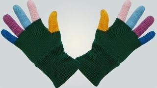 Как вязать перчатки. Часть 1.