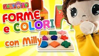 Prime parole in italiano per bambini, Impara le forme e i colori
