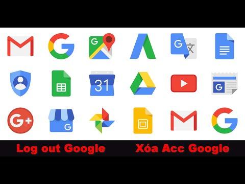 Xóa và thoát hoàn toàn tài khoản Google (Gmail) trên smartphone android. Top Apps Đã Login Gmail Bạn