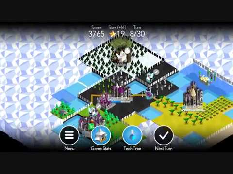 Battle of Polytopia Gameplay - Vengir Vengeance (110k High Score, outdated!)