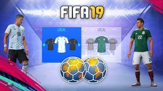 FIFA 19 | KITS & RATINGS NATIONAL TEAMS
