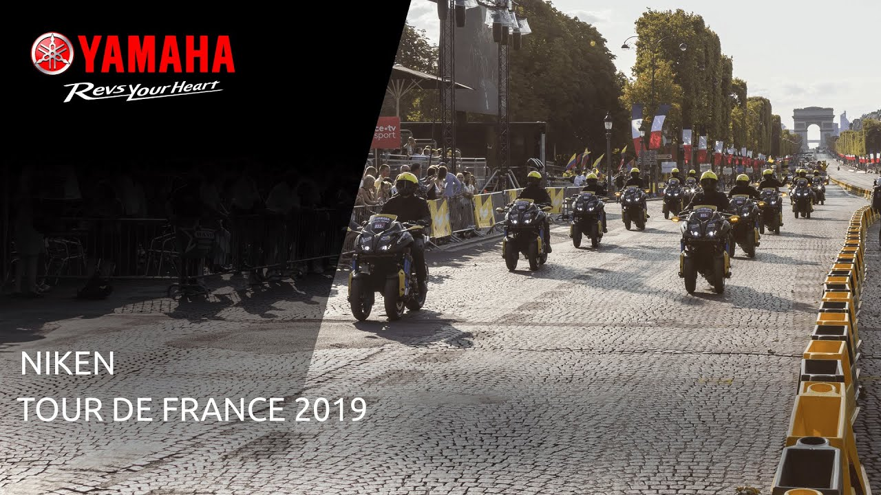 Yamaha NIKEN - Tour de France 2019