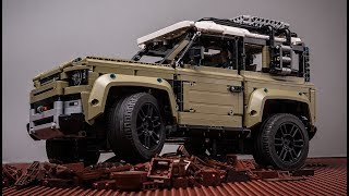 Age 14+ LEGO Technic 42110 Land Rover Defender unbox build review