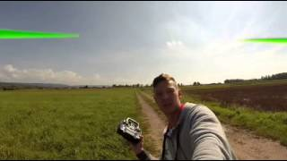 Quadrocopter - APM gps_hold test