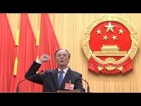 Wang Qishan elected Chinese vice president