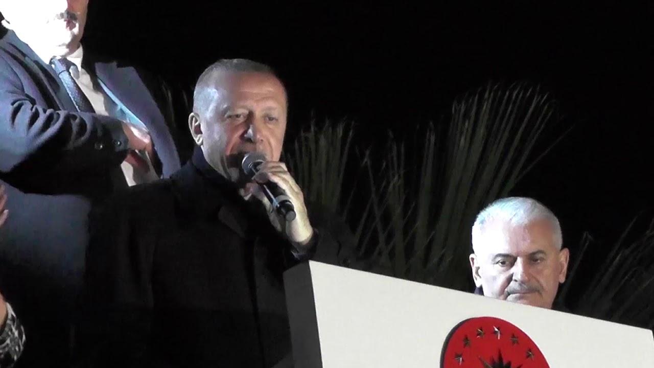 Kiraz'da Erdoğan coşkusu