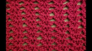 The Tunisian Shell Lace Crochet Tutorial!