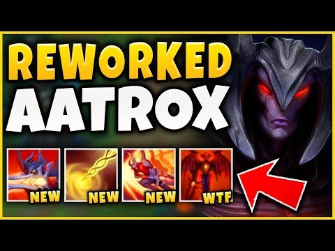 THIS NEW AATROX REWORK IS ACTUALLY RIDICULOUS! SEASON 9 REWORKED AATROX GAMEPLAY - League of Legends