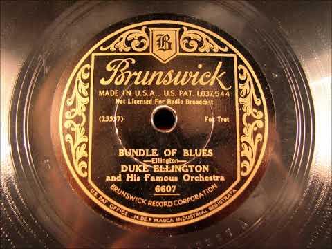 BUNDLE OF BLUES by Duke Ellington 1933