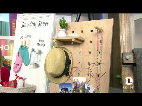 Display your favorite items with a diy pegboard | HOUSTON LIFE | KPRC 2