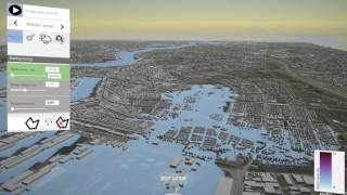 Rotterdam levee intentionally breached - 3D interactive modelling using Delft3D FM (Part 2) thumbnail