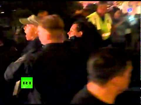 Occupy Boston: More video of cop crackdown on Veterans for Peace