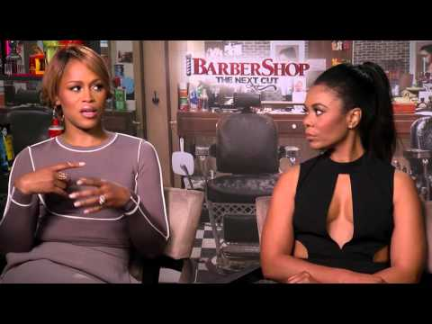Barbershop: The Next Cut: Regina Hall & Eve Official Movie Interview