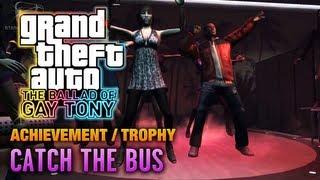 GTA: The Ballad of Gay Tony - Catch the Bus Achievement / Trophy (1080p)