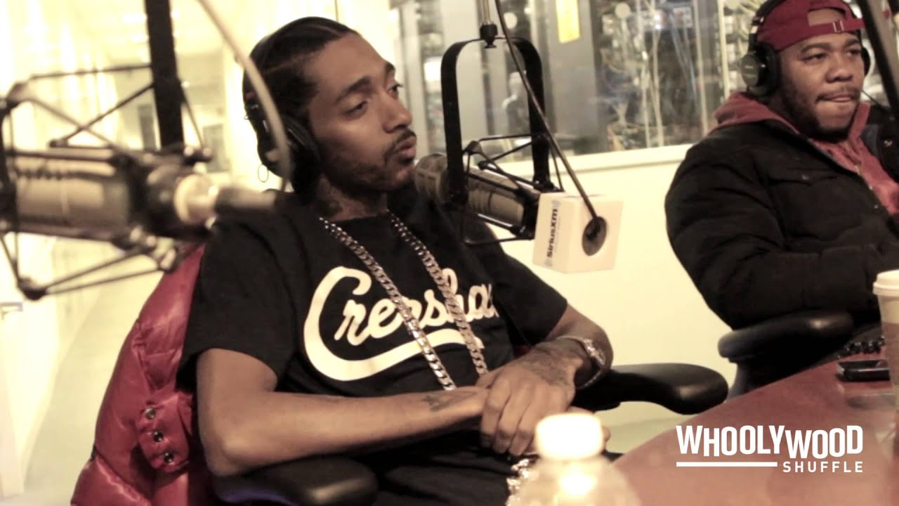 NIPSEY HUSSLE vs DJ WHOO KID on the WHOOLYWOOD SHUFFLE at SHADE 45