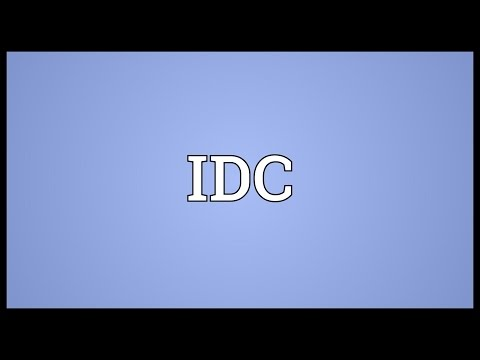IDC Meaning