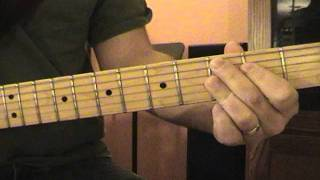Stormy Monday Blues Guitar Lesson - Chords
