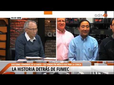 Guillermo Fernández de la Garza, Director Ejecutivo de FUMEC, en entrevista con ADN40