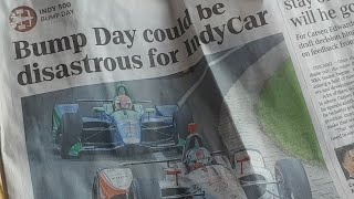 INSANE Indy 500 -- BUMP DAY -- Review/Analysis ----- LIVE!!!