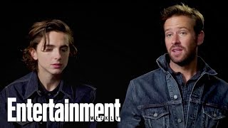 Call Me By Your Name: Timothée Chalamet, Armie Hammer On Love | Oscars 2018 | Entertainment Weekly