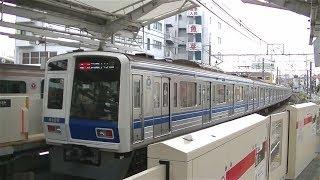 西武6000系6109F&東京メトロ7000系7130F 東横線自由が丘駅発車