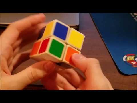 Wooden 2x2 Rubik's Cube
