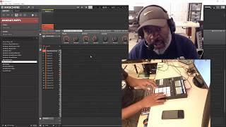Maschine MK3 - Random Beat Making (my starting process)