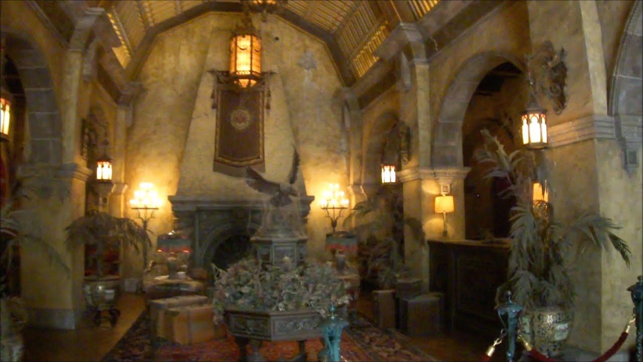 The Twilight Zone Tower of Terror, Hollywood Studios, Walt ... Tower Of Terror Disney World Inside Video
