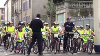 Junior Bike du groupe Michelin - Organisé par Pneu Laurent - Édition 2015 à Avallon (89)