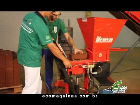 Machine or Press Ecological Bricks | Eco Brava Line