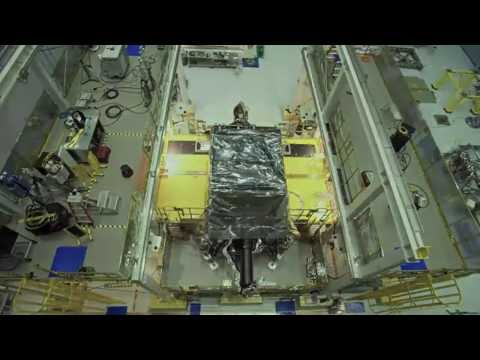 Webb Telescope ISIM Instrument Installation Timelapse