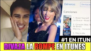 La Divaza #1 En ITUNES Por Su CANCION *Hasta Taylor Swift La BAILA!*