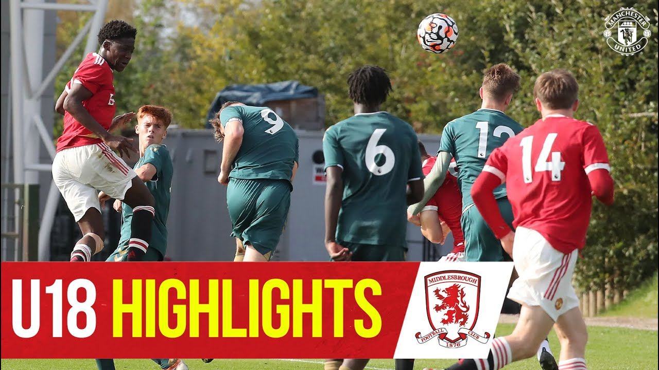 Download U18 Highlights | Manchester United 3-3 Middlesbrough | The Academy