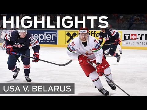 Belarus blast USA for five | #IIHFWorlds 2015