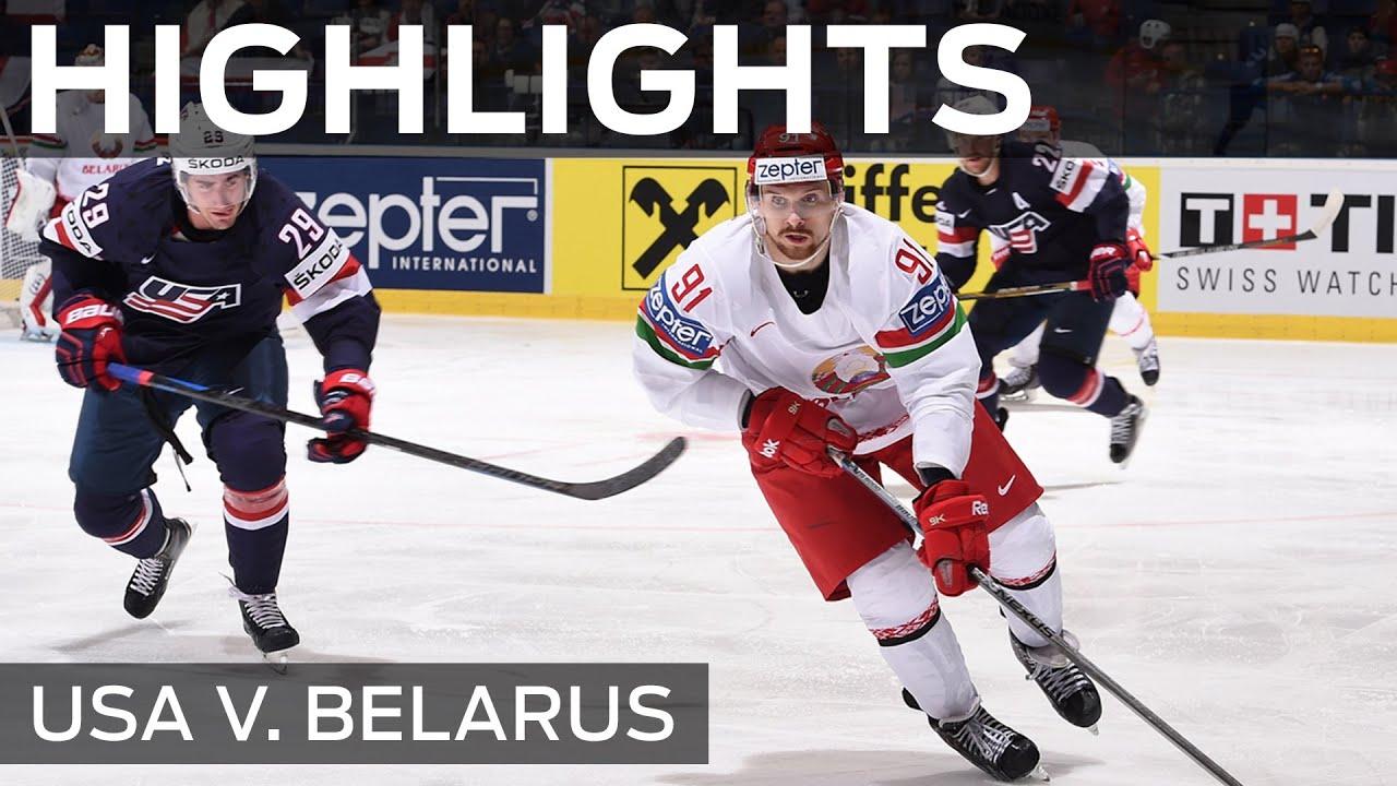 Белорусские хоккеисты обыграли сборную США - 5:2