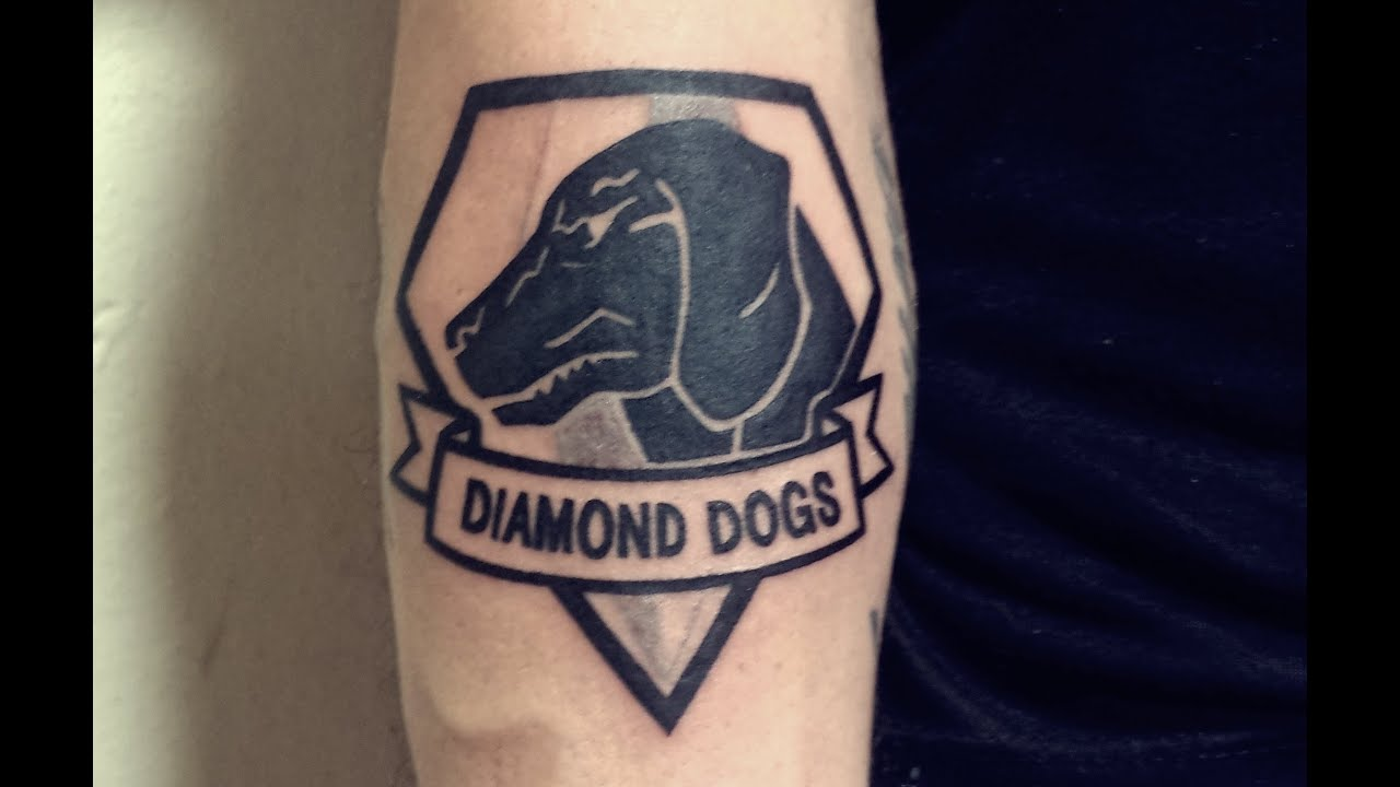 diamond dogs tattoo the image kid has it. Black Bedroom Furniture Sets. Home Design Ideas