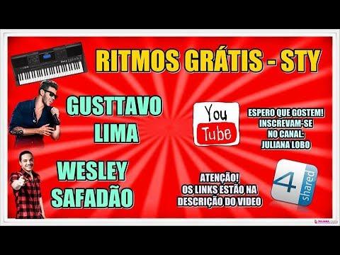 🎹 RITMOS GRÁTIS - GUSTTAVO LIMA, SAFADÃO, ETC - YAMAHA - STY